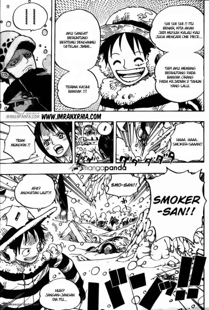 One Piece Chapter 663