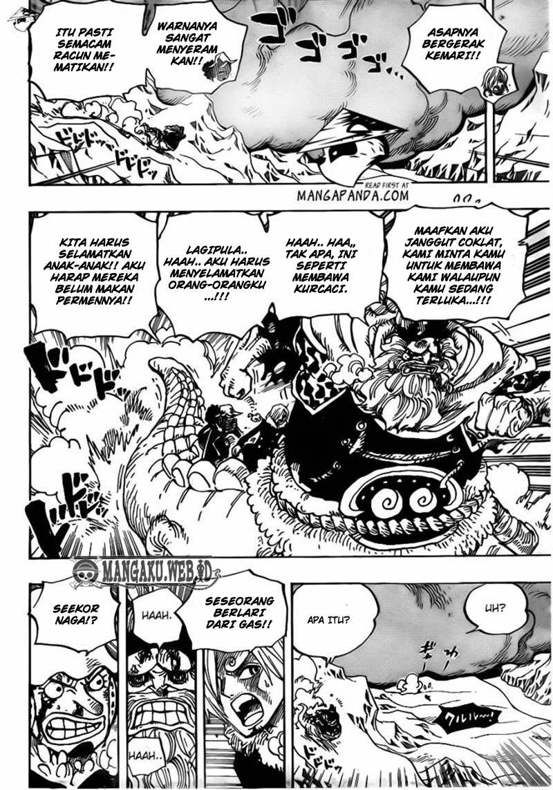 One Piece Chapter 677