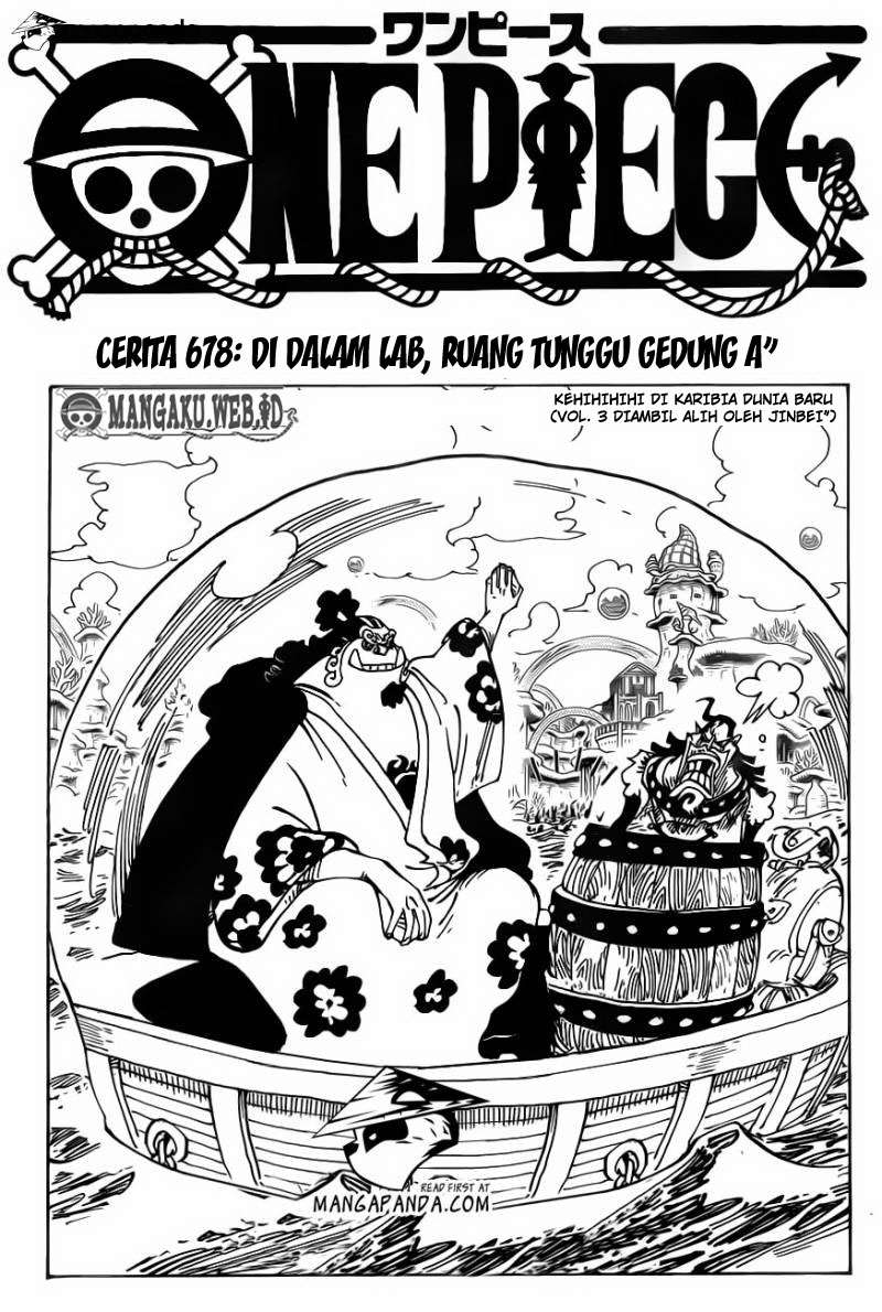 One Piece Chapter 678