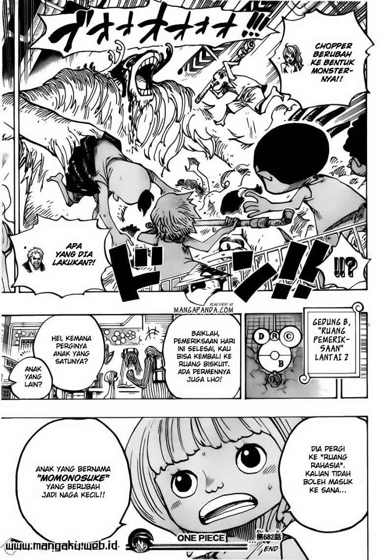 One Piece Chapter 682