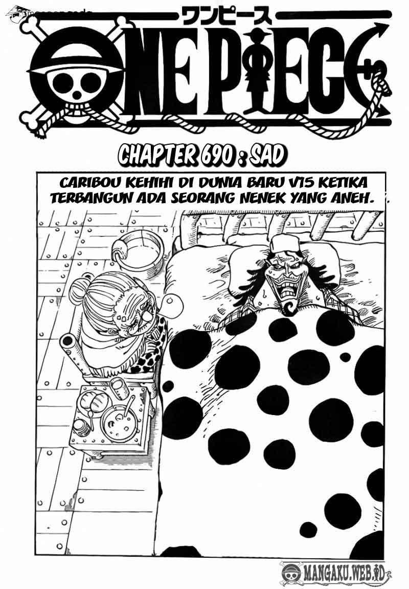 One Piece Chapter 690