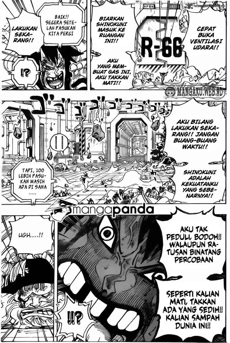 One Piece Chapter 691
