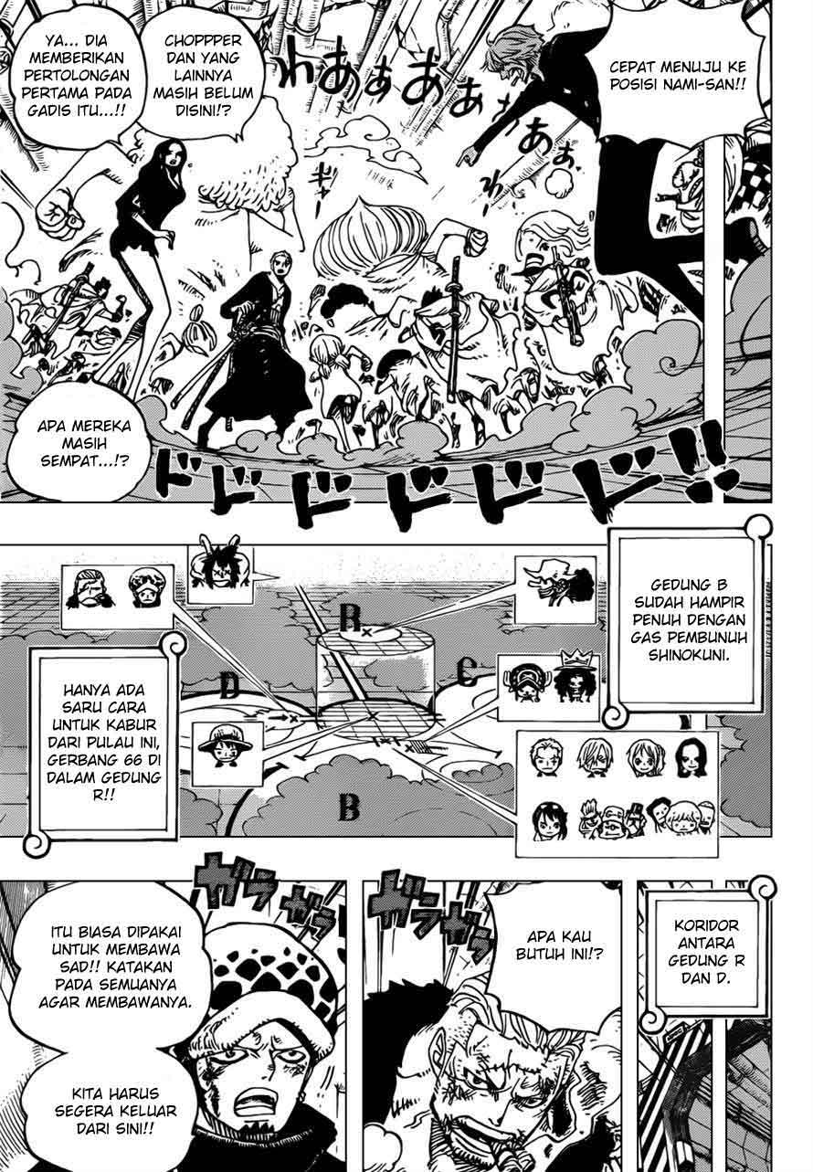 One Piece Chapter 692