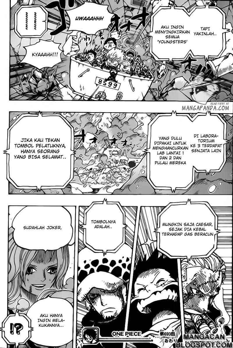 One Piece Chapter 693