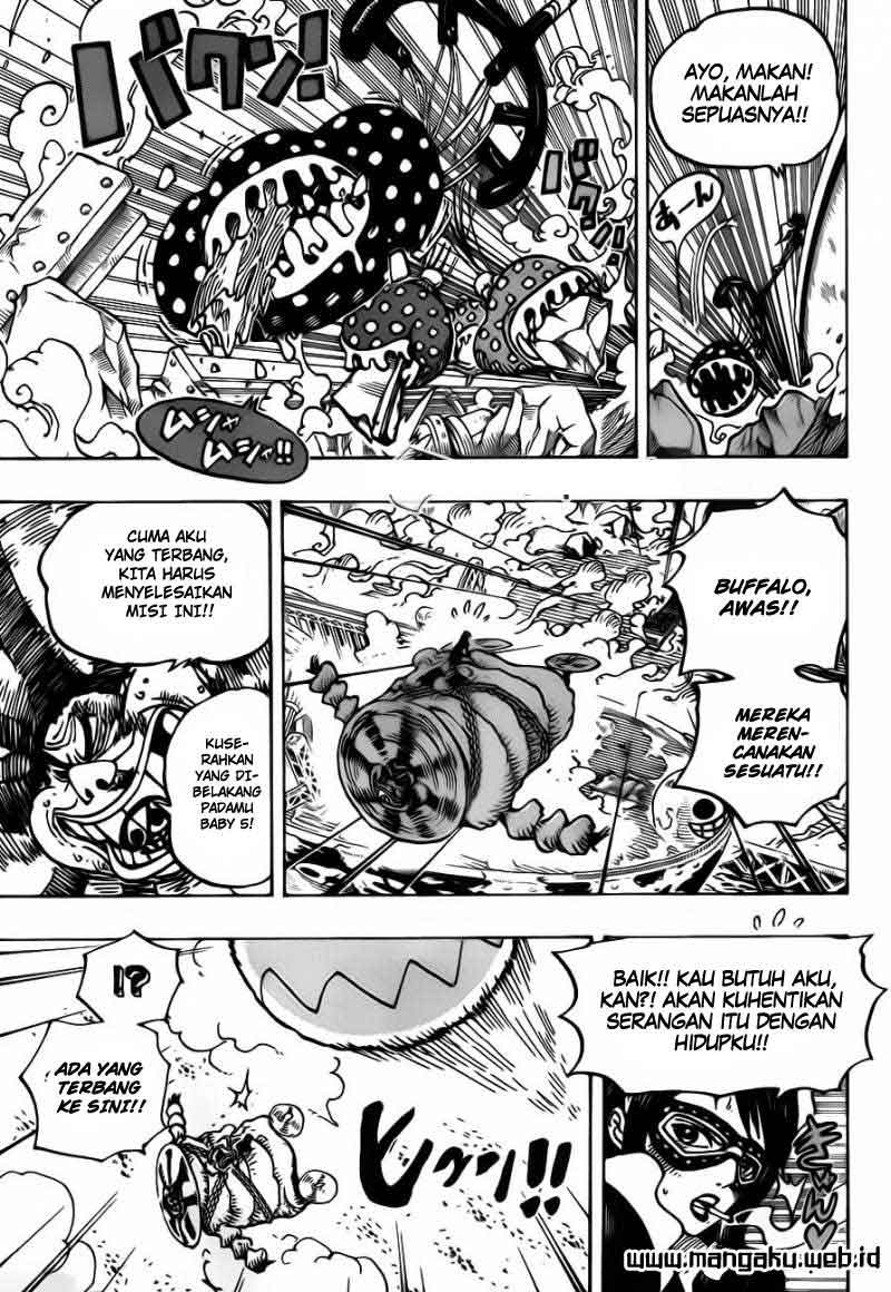 One Piece Chapter 695