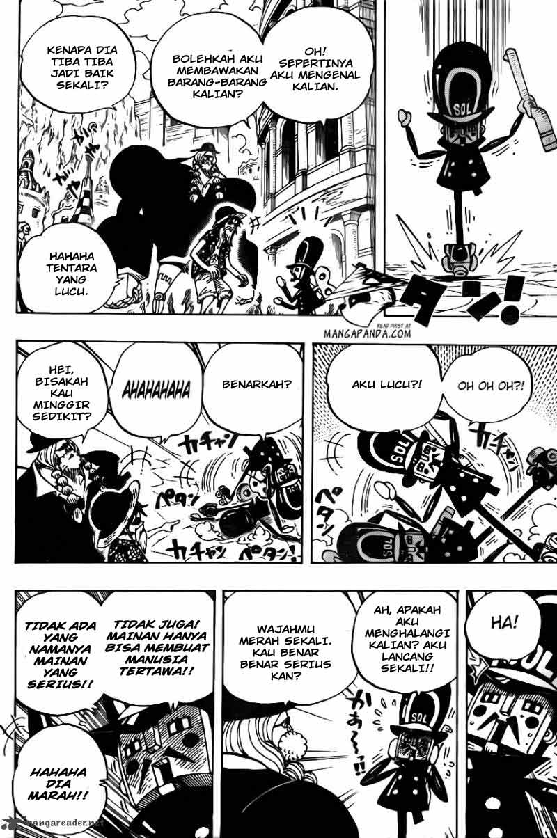 One Piece Chapter 703