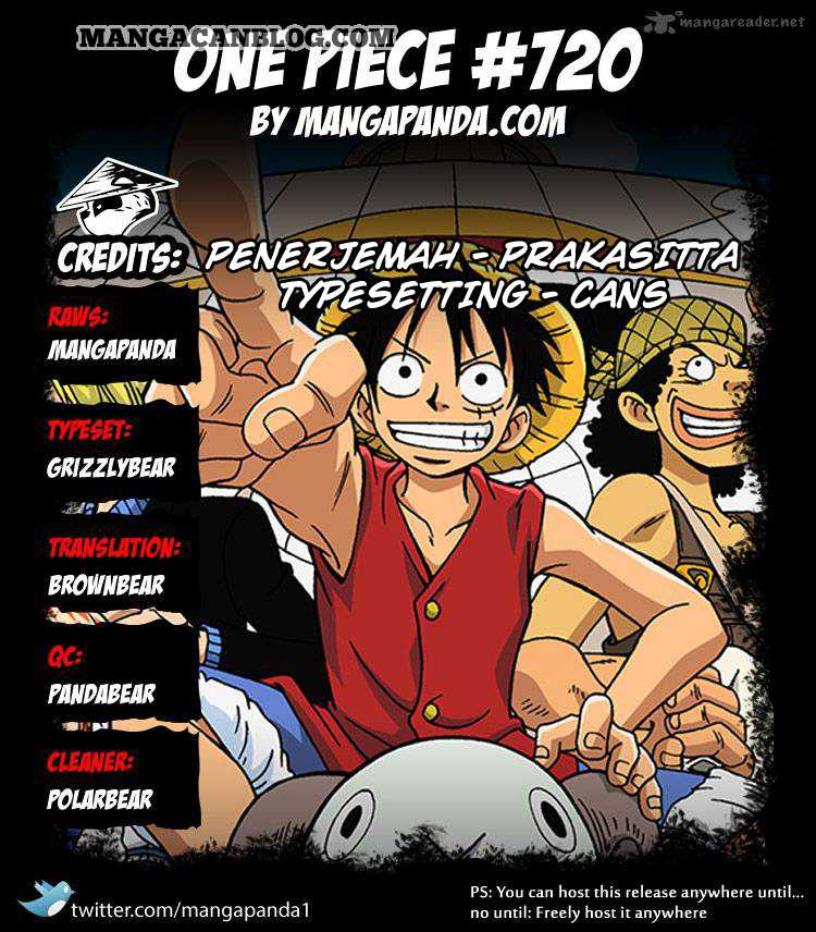 One Piece Chapter 720