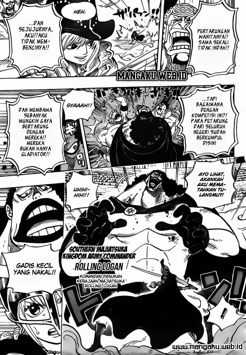 One Piece Chapter 725