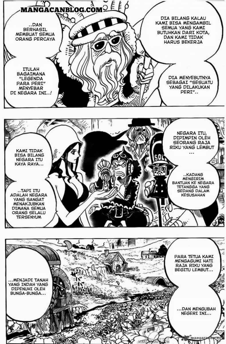 One Piece Chapter 726