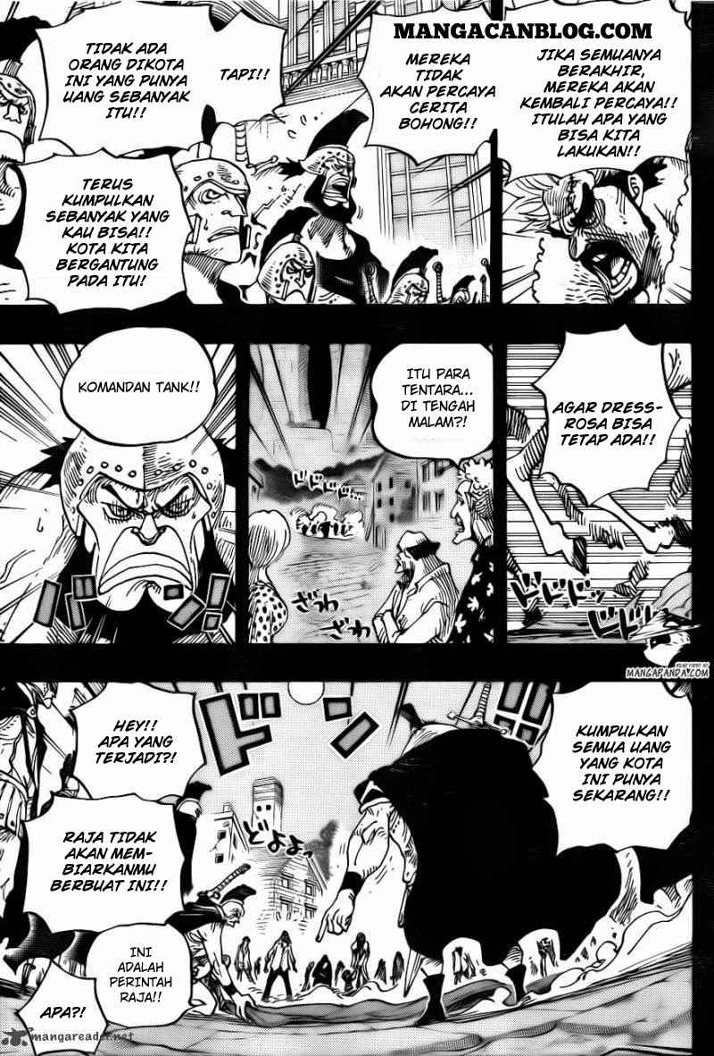 One Piece Chapter 727