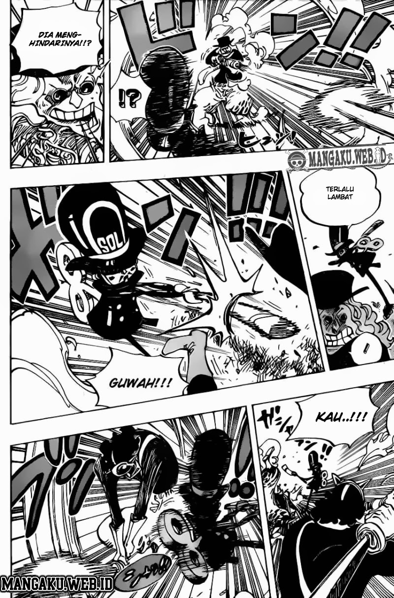 One Piece Chapter 733