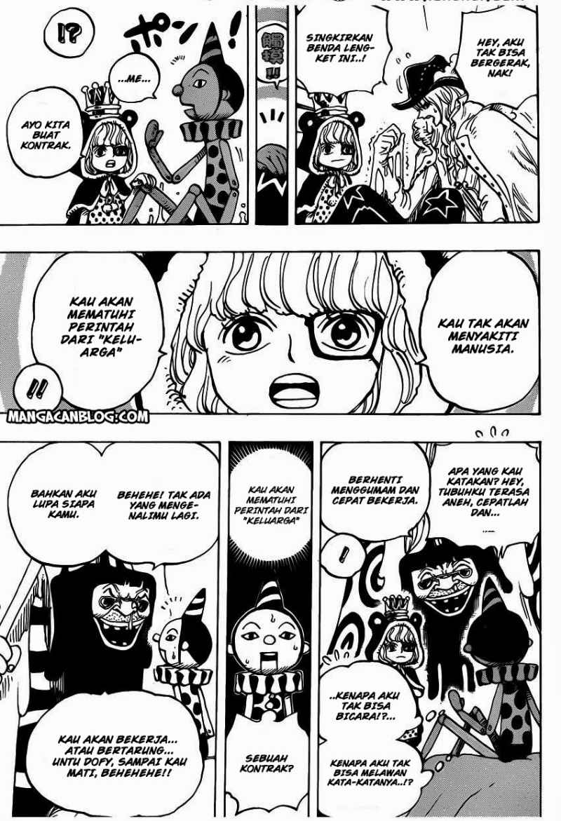 One Piece Chapter 737
