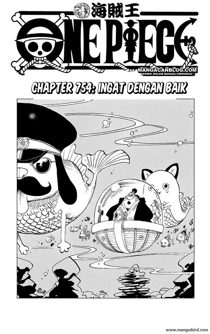 One Piece Chapter 754