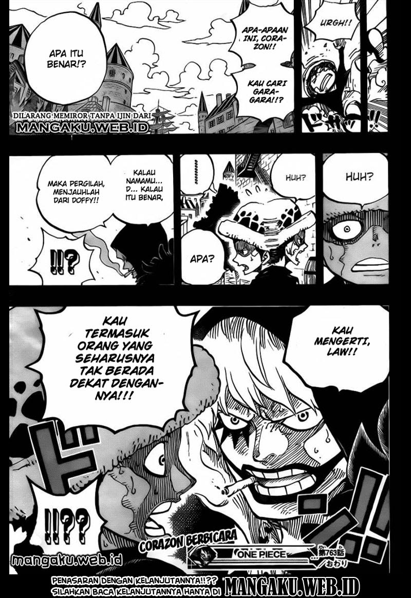 One Piece Chapter 763