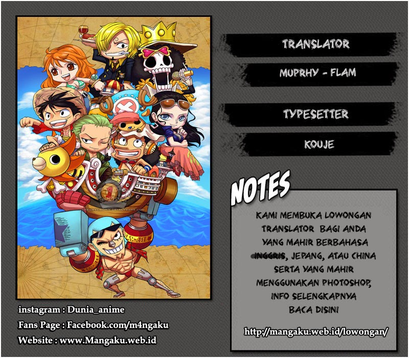 One Piece Chapter 778