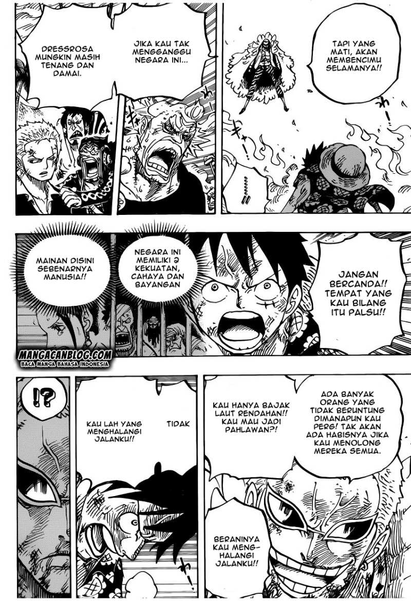 One Piece Chapter 783