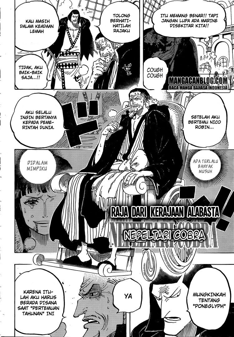 One Piece Chapter 823