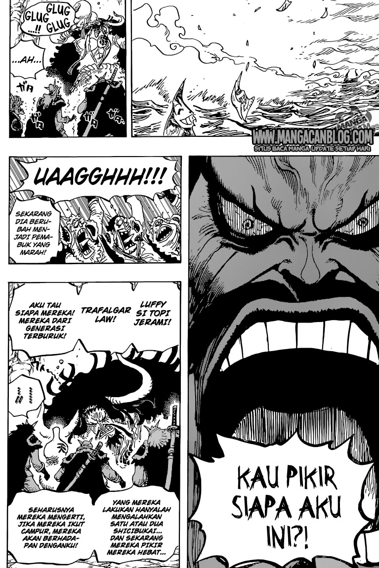 One Piece Chapter 824