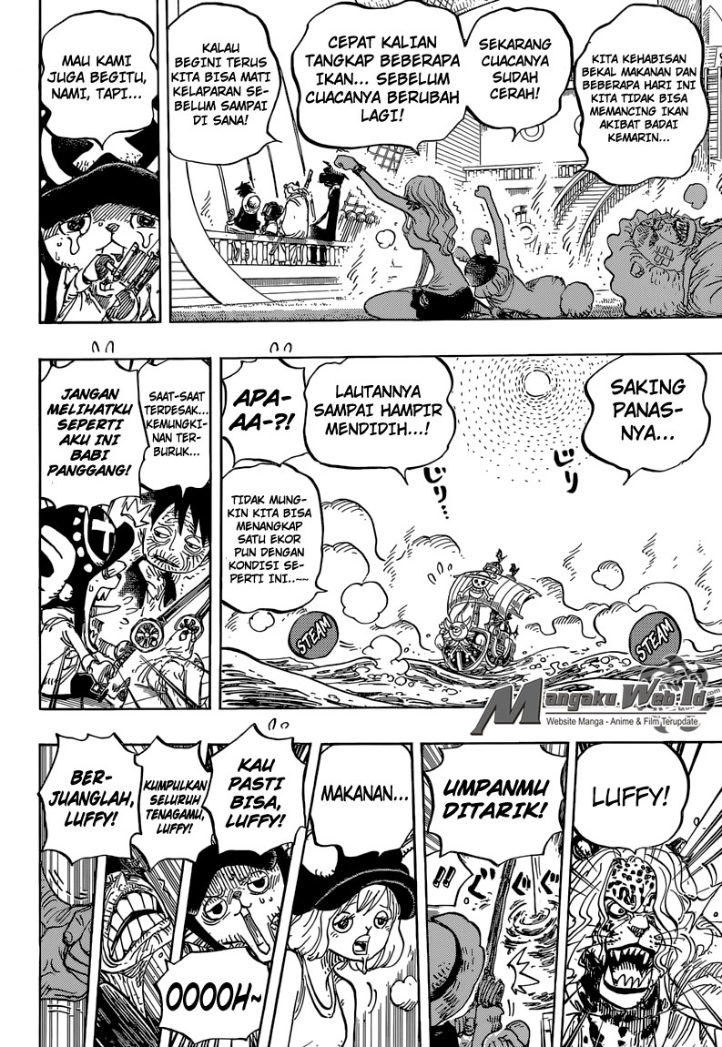 One Piece Chapter 825