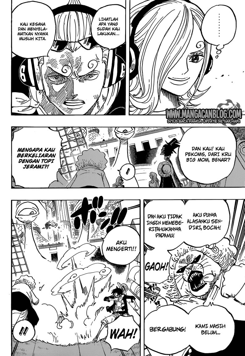 One Piece Chapter 826