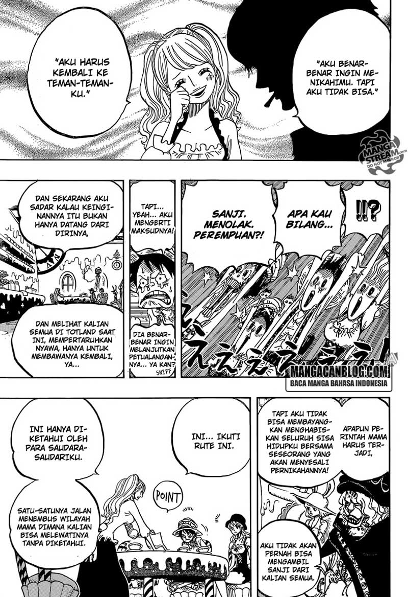 One Piece Chapter 828