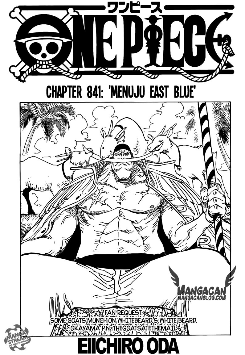 One Piece Chapter 841
