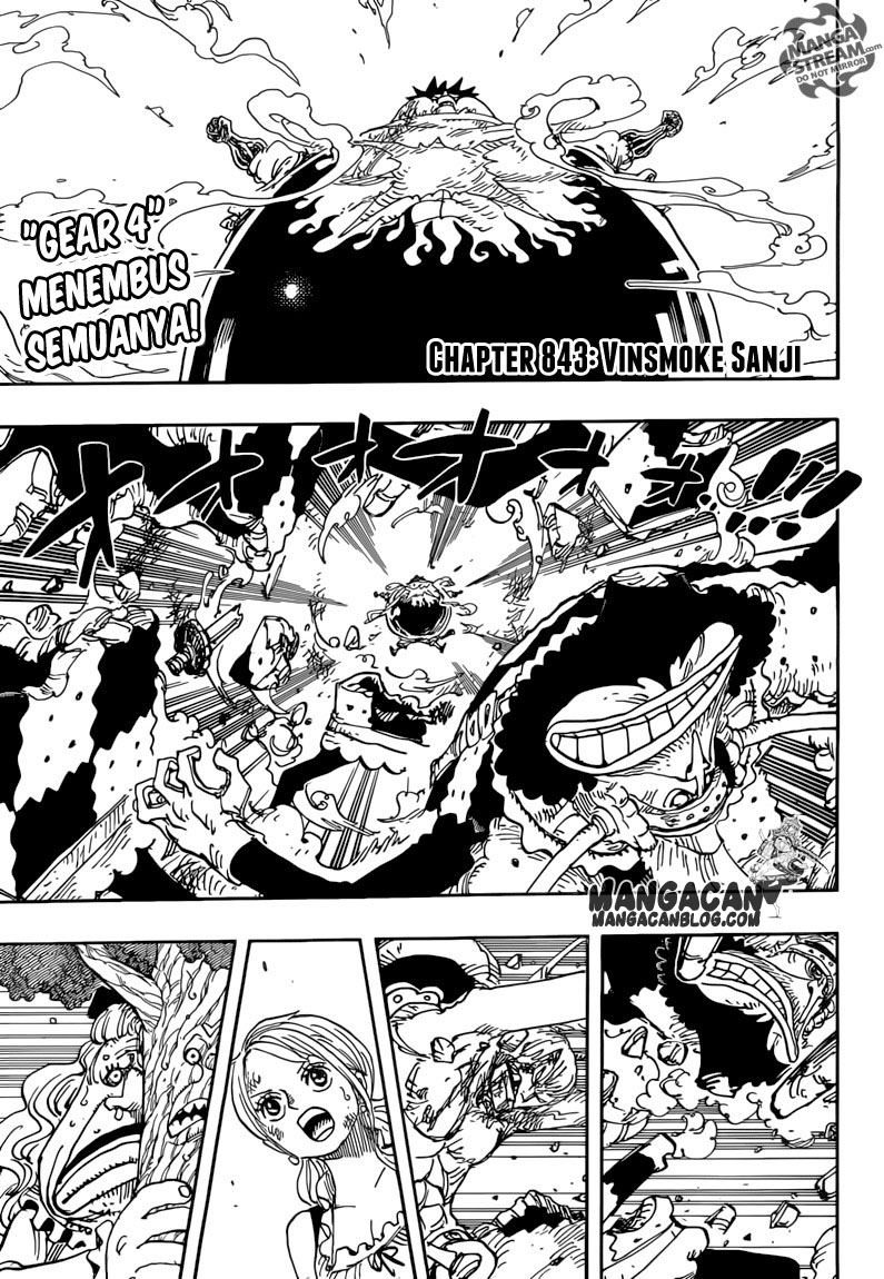 One Piece Chapter 843