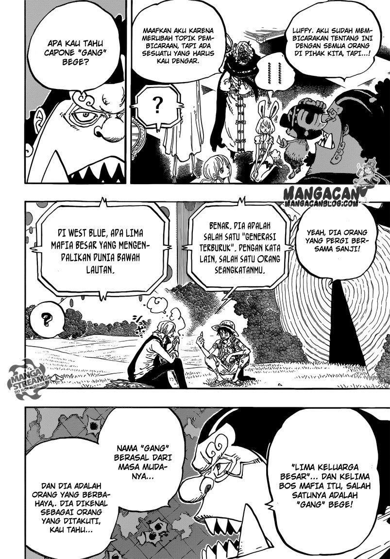 One Piece Chapter 857