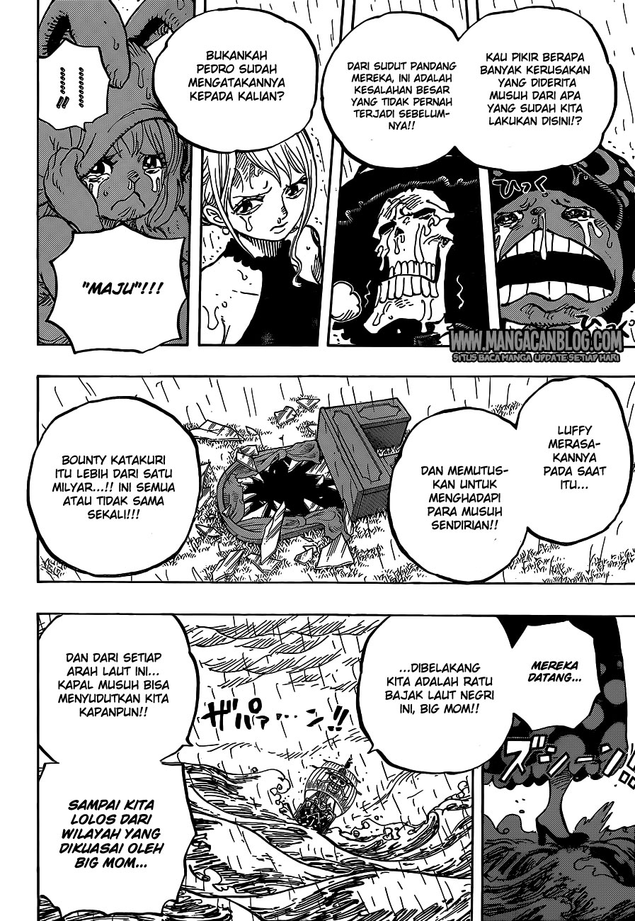 One Piece Chapter 879