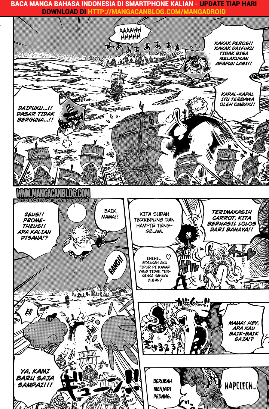 One Piece Chapter 889