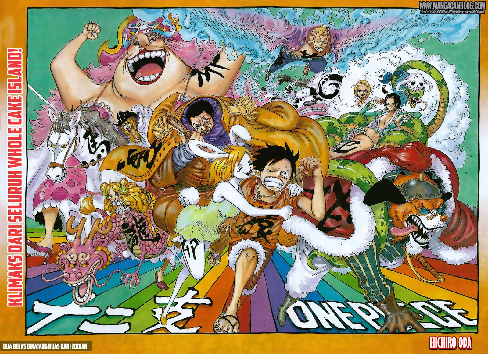 One Piece Chapter 890
