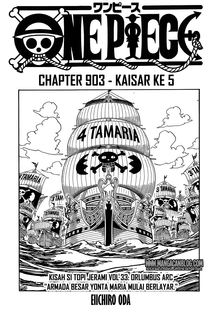 One Piece Chapter 903