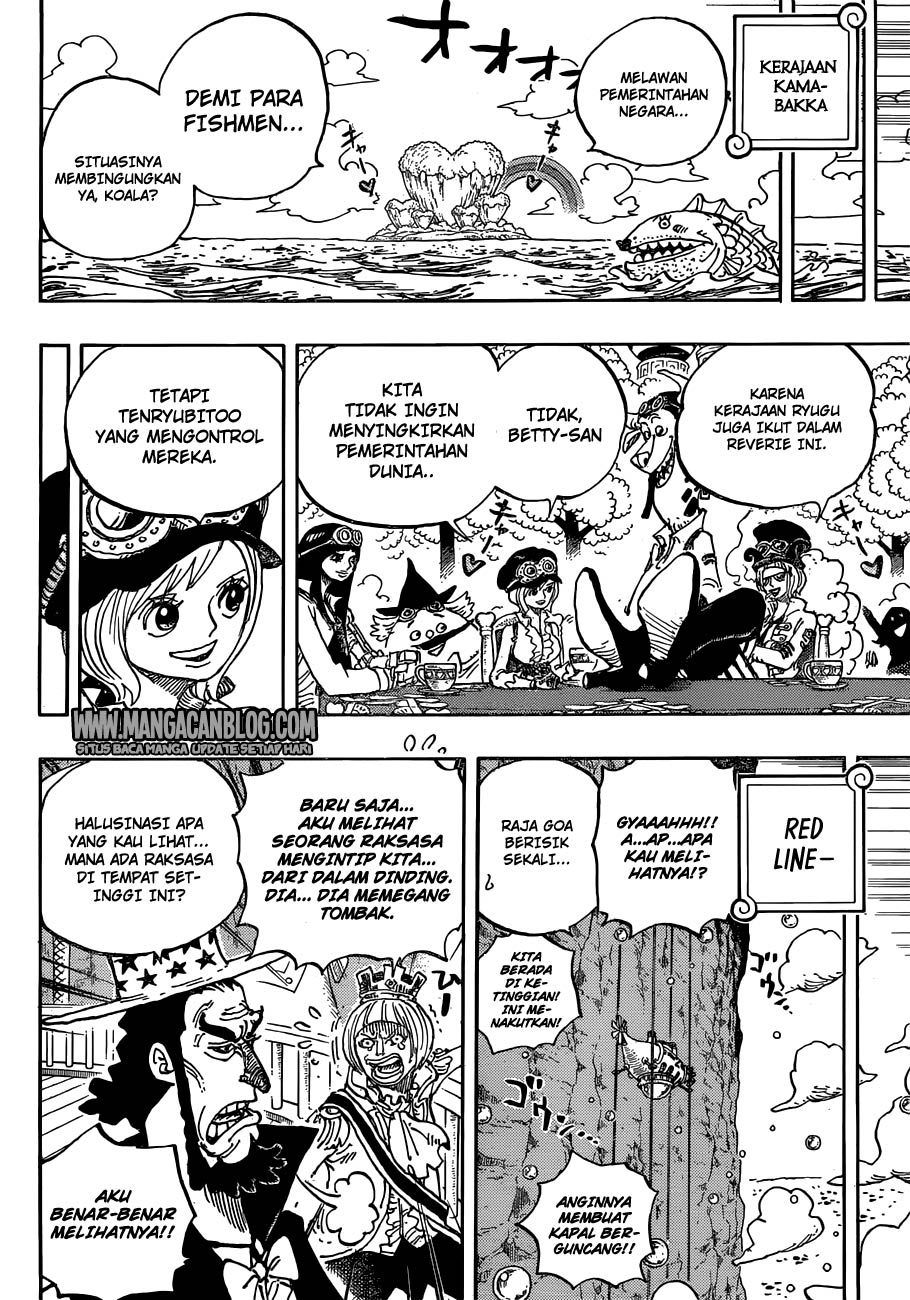 One Piece Chapter 905