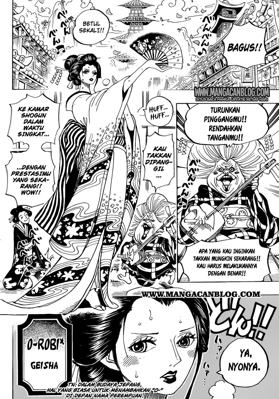 One Piece Chapter 909