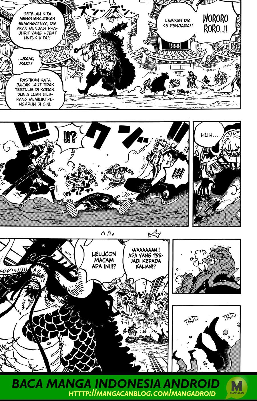 One Piece Chapter 924