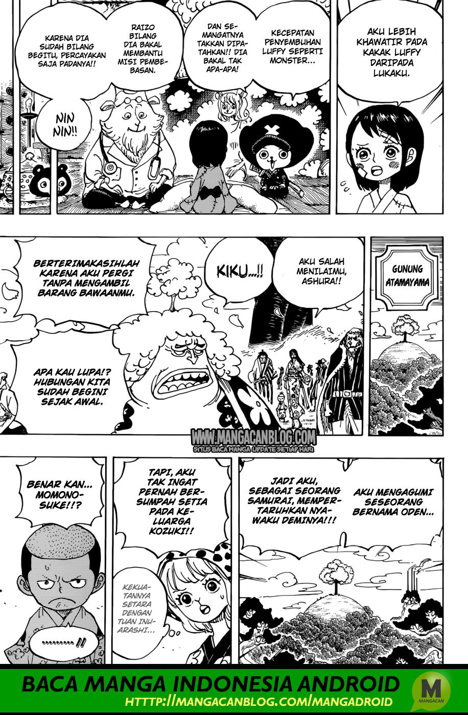 One Piece Chapter 925