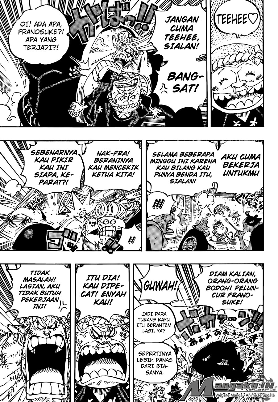 One Piece Chapter 929