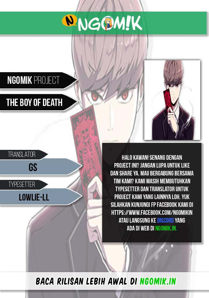 The Boy of Death Chapter 19