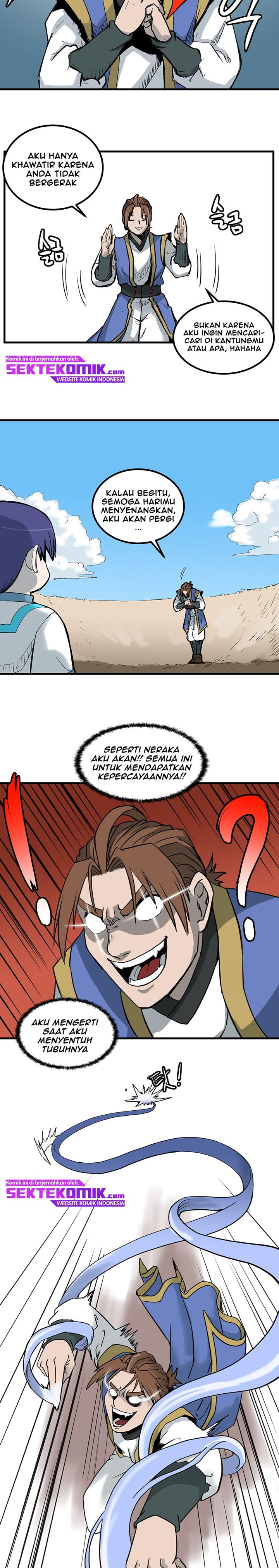 Spoiler Manhwa Androids Have No Blood 3