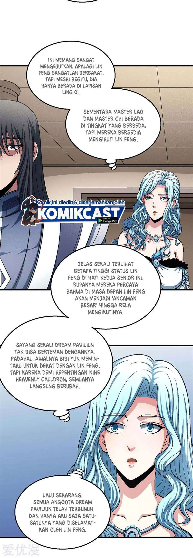 God of Martial Arts Chapter 134.3