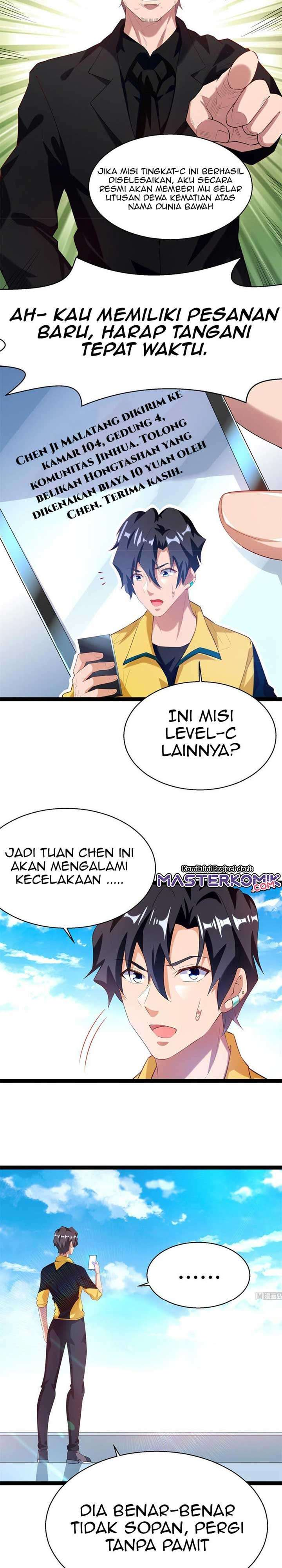 God-Level Takeout Man Chapter 53
