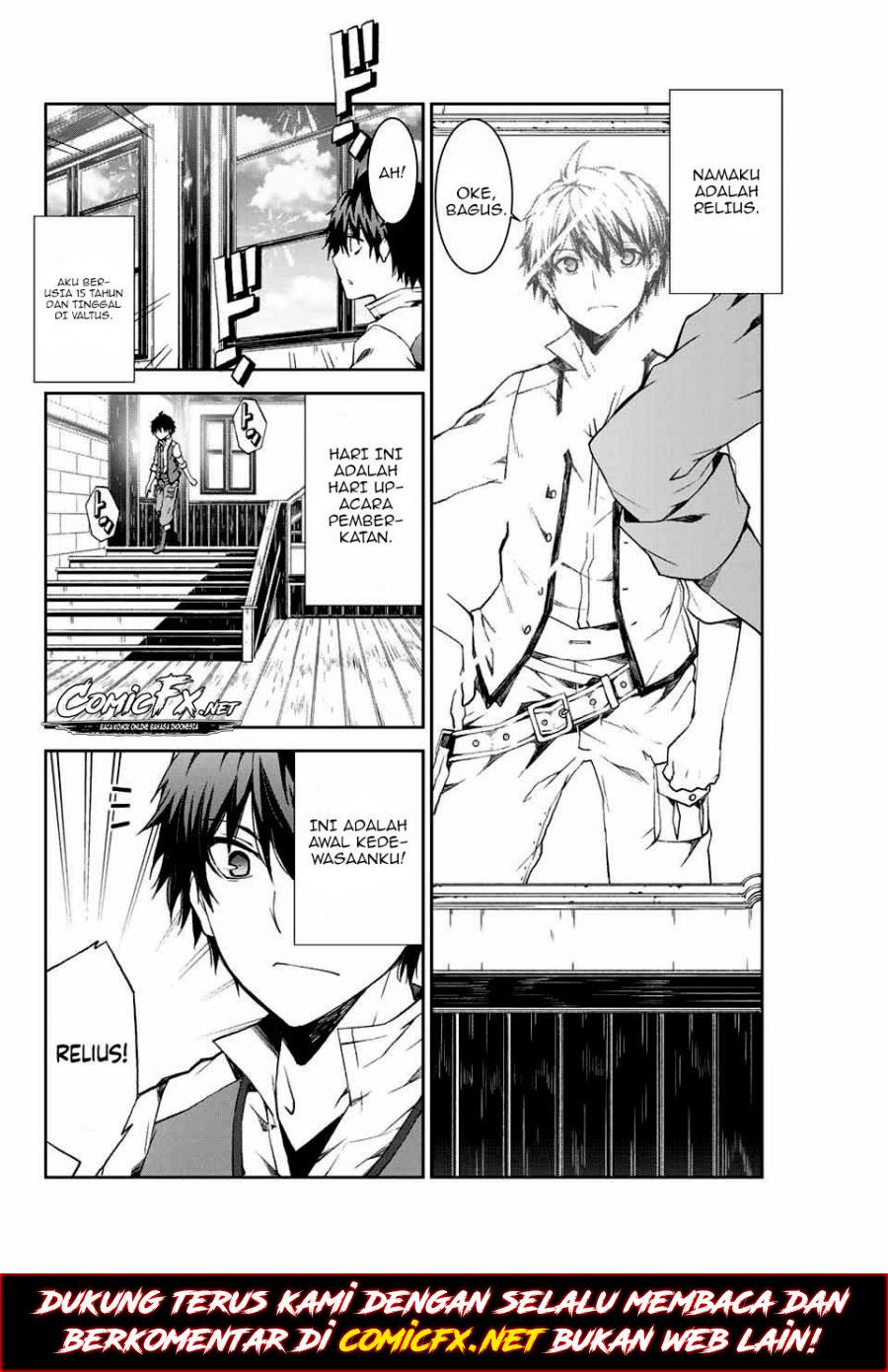 """Spoiler Manga The Weakest Occupation """"Blacksmith,"""" but It's Actually the Strongest 3"""
