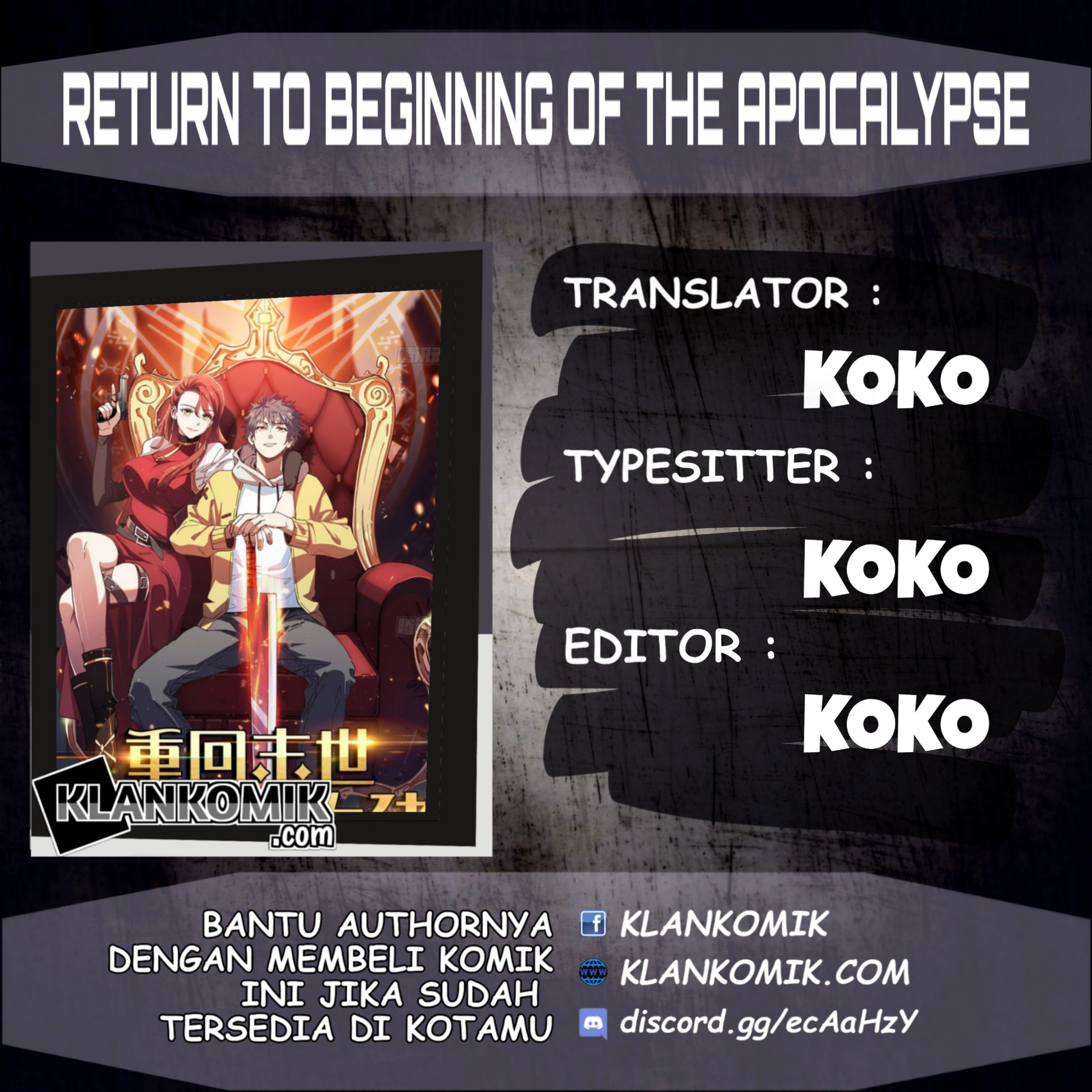 Return To Beginning Of The Apocalypse Chapter 35