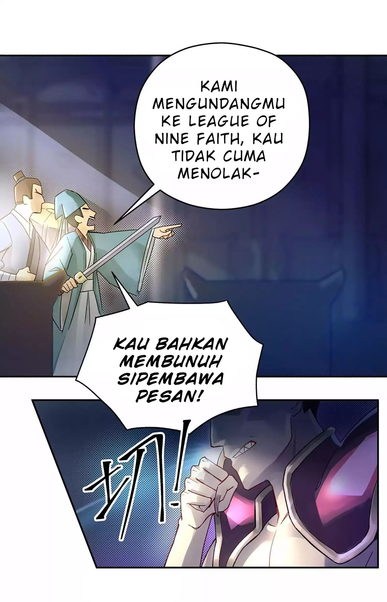 Spoiler Manhua Busted! Darklord 4