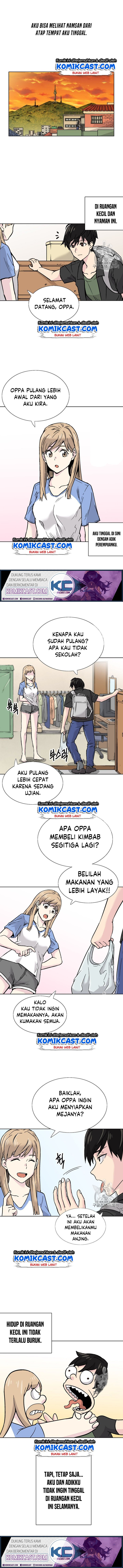 Spoiler Manhwa Escape From The Poverty by Catching Golem 1