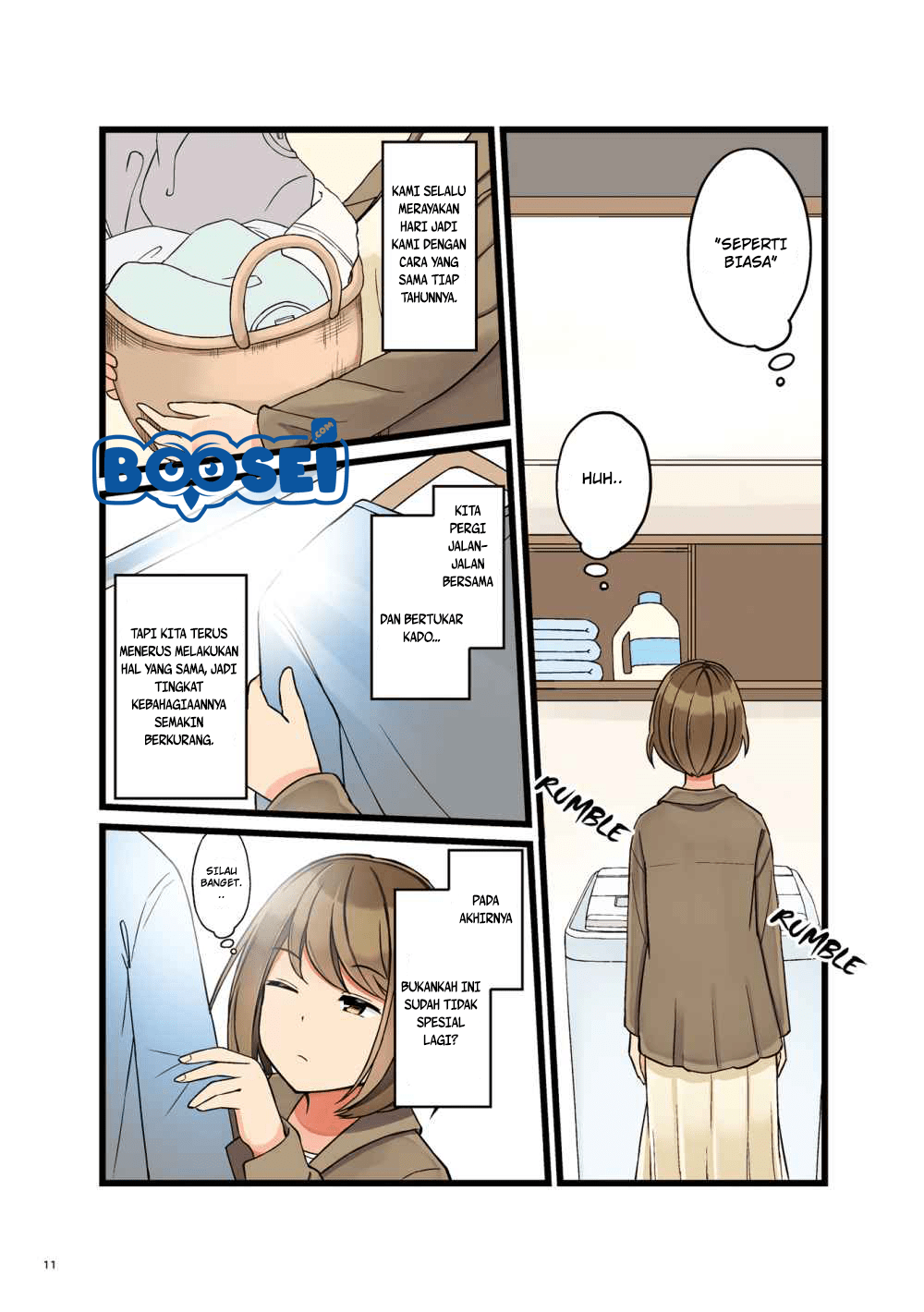 Spoiler Manga First Comes Love, Then Comes Marriage 2