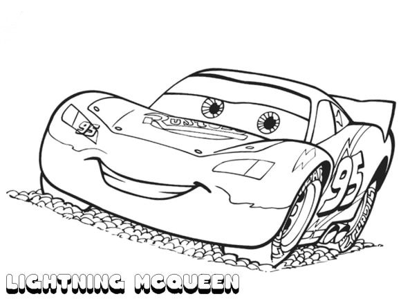 awesome lightning mcqueen coloring pages
