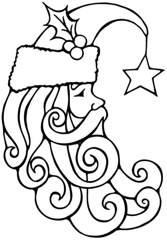 beautiful coloring page christmas ornament hd 1