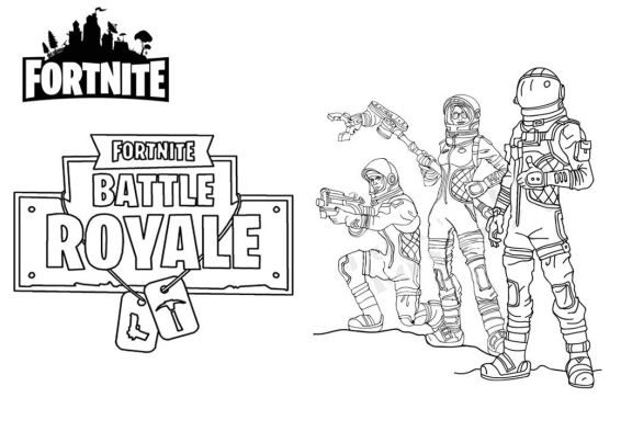 beautiful fortnite coloring pages pro