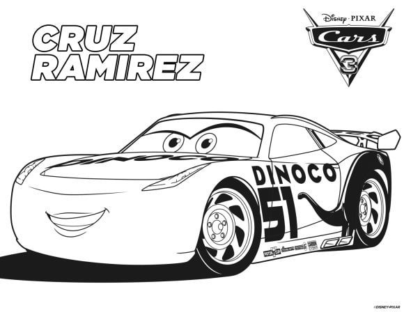 beautiful lightning mcqueen coloring pages